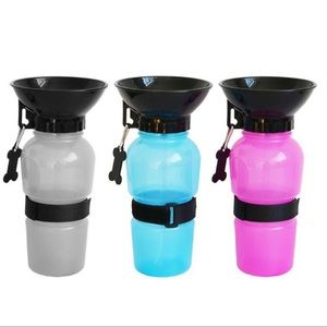 NEW Portable Dog Water Bottle with Bowl!